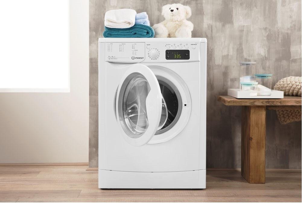 Фронтальная загрузка стиральной машины