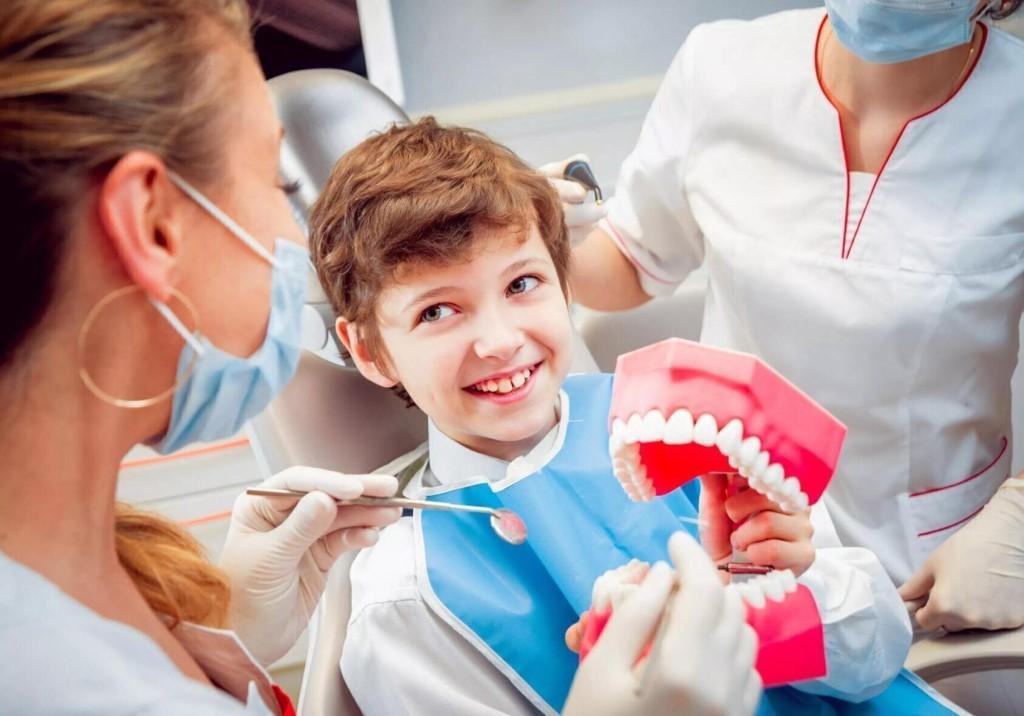 Удаление зубов у детей