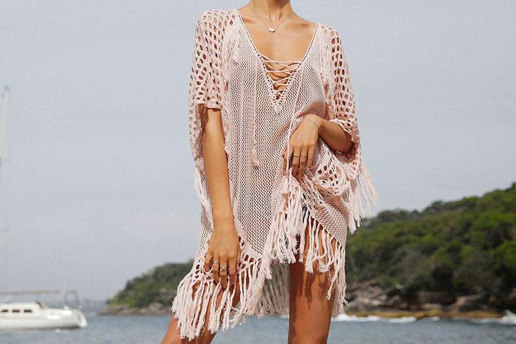 Легкое платье для отдыха на море
