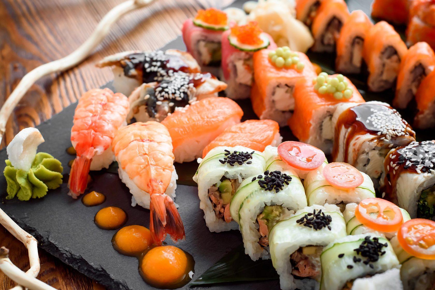 Суши Мастер - ресторан японской кухни в г. Новомосковск