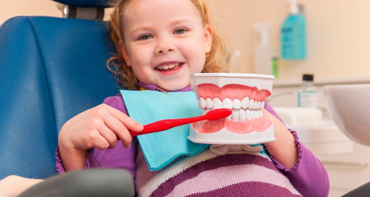 Важность ухода за зубами у детей